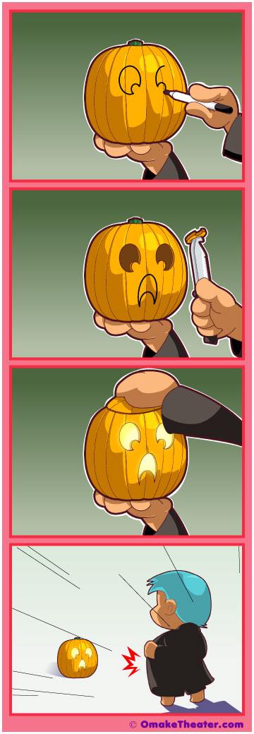 Friday 4Koma 第48話 - Jack O'Lantern 「4コマ漫画」