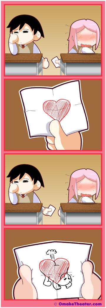 Friday 4Koma 第52話 - Love Stinks 「4コマ漫画」