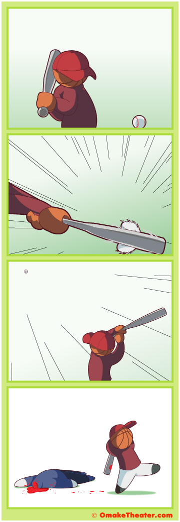 Friday 4Koma 第53話 - Bad Sport 「4コマ漫画」
