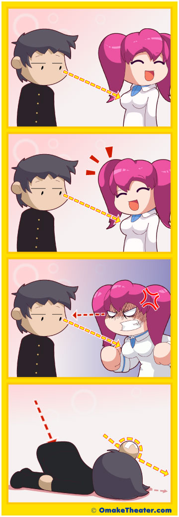 Friday 4Koma 第103話 - Starey Eyes 「4コマ漫画」