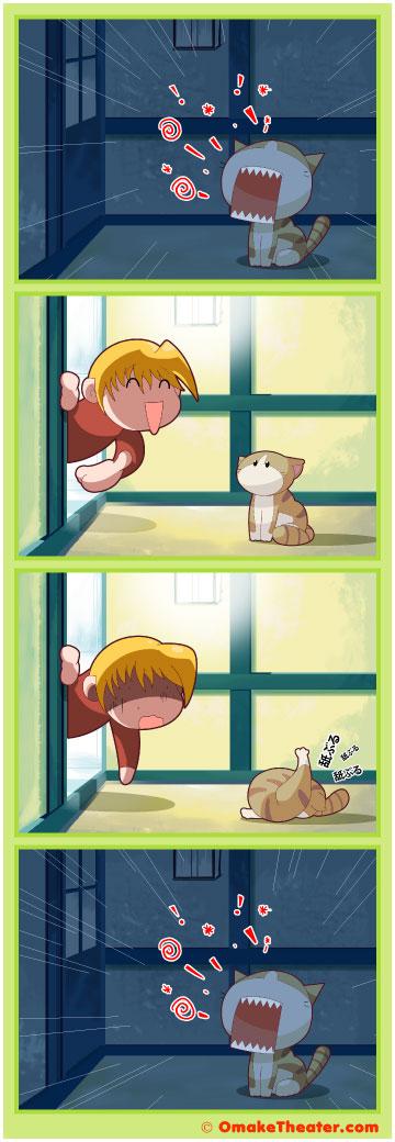 Friday 4Koma 第109話 - Improper Grooming 「4コマ漫画」