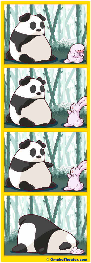 Friday 4Koma 第115話 - Bunny Love 「4コマ漫画」