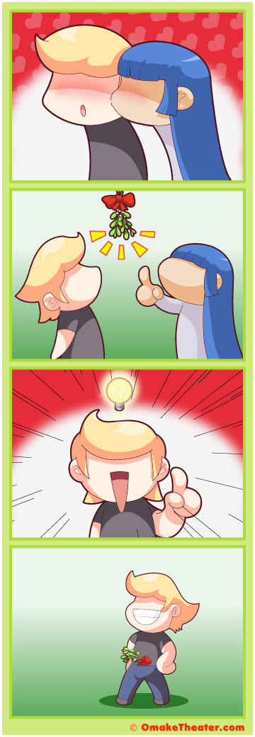 Friday 4Koma 第121話 - Spreading Holiday Cheer 「4コマ漫画」
