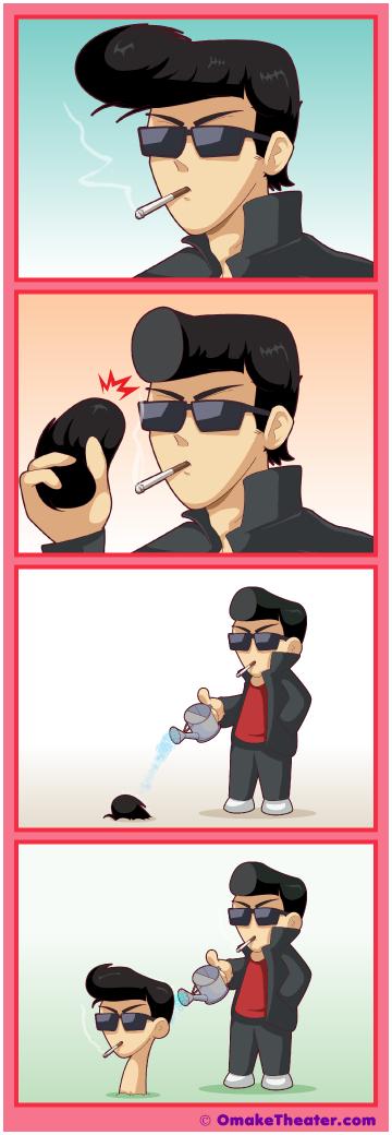 Friday 4Koma 第360話 - Damn Yankī 「4コマ漫画」