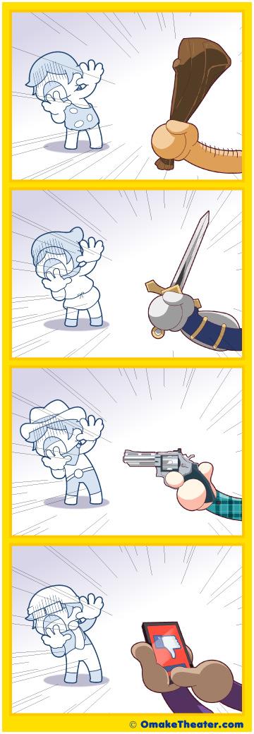 Friday 4Koma 第167話 - Evolution of Revenge 「4コマ漫画」
