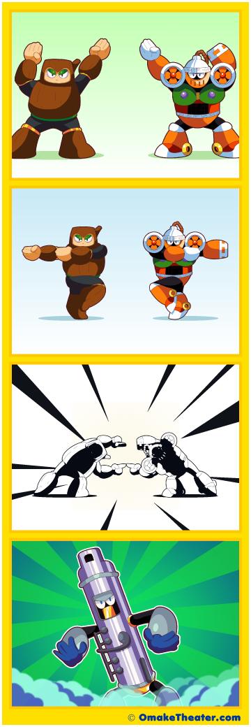 Friday 4Koma 第363話 - Mega Fusion Dance 「4コマ漫画」