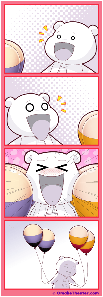 Friday 4Koma 第332話 - Oh My! Oppai!! 「4コマ漫画」