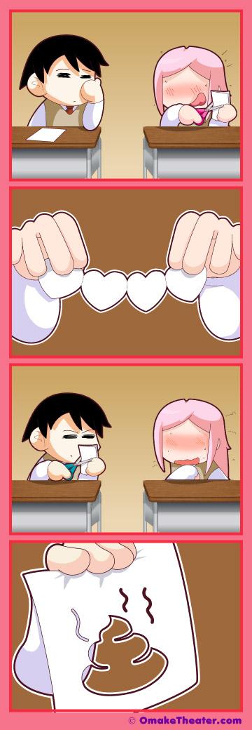 Friday 4Koma 第240話 - Paper Cut 「4コマ漫画」