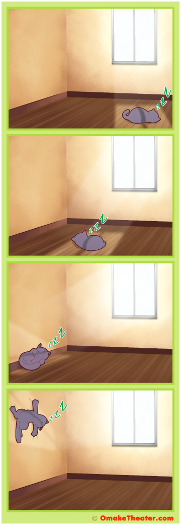 Friday 4Koma 第293話 - Sunshine Came Softly 「4コマ漫画」