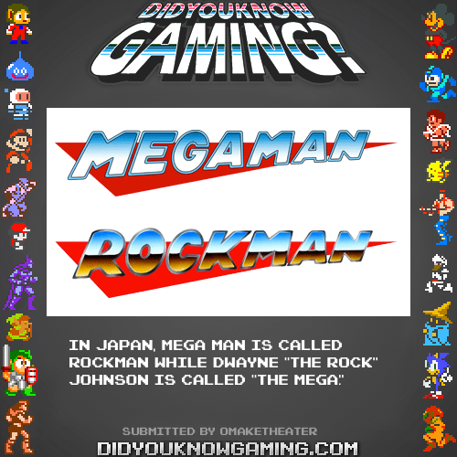 Rockman vs. Mega Man - Did You Know Gaming?