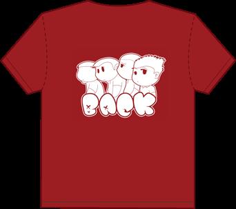 Gaijin 4Koma Shirt Back