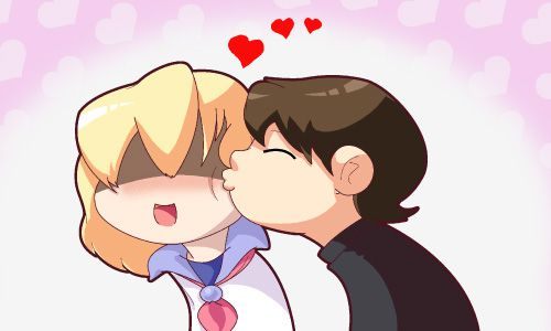 Friday 4Koma 第60話 - Smoochie Smoochie!