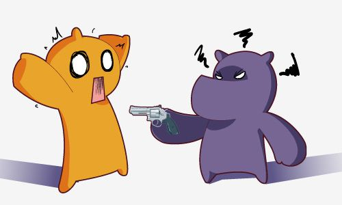 Friday 4Koma 第9話 - Purple Hates Orange