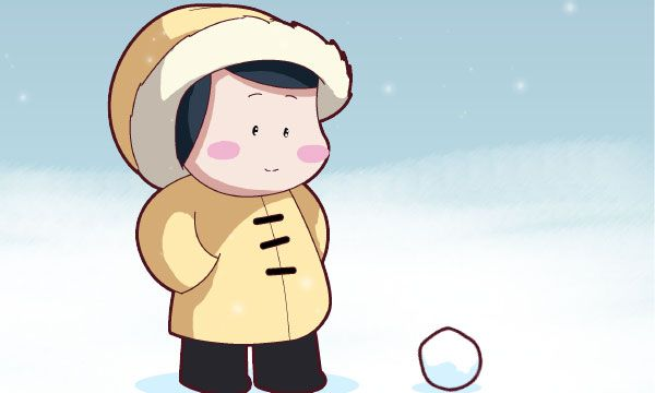 Friday 4Koma 第194話 - Snow Day