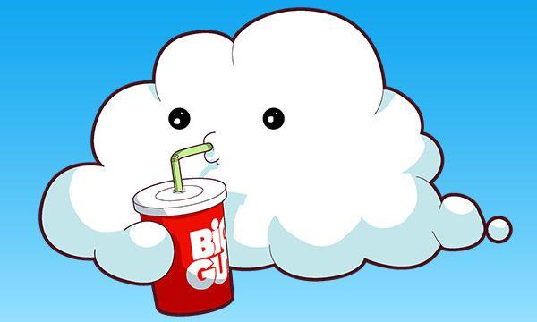 Friday 4Koma 第312話 - Cloudburst