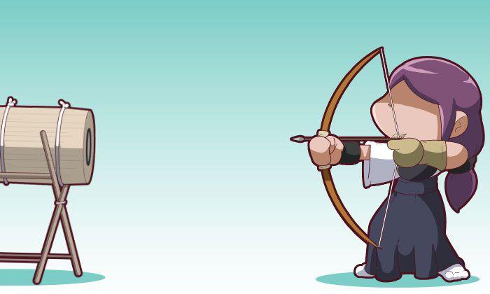 Friday 4Koma 第343話 - Fallen Archery
